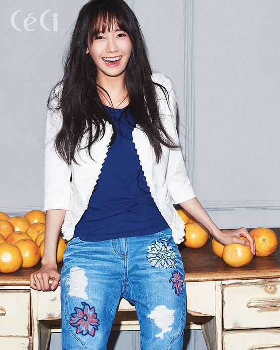 Korean Magazine Lovers (SNSD Yoona - Ceci Magazine April Issue '15)