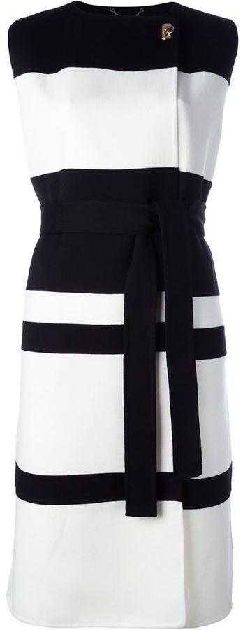 Salvatore Ferragamo striped dress