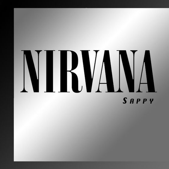 Nirvana – Sappy (single cover art)