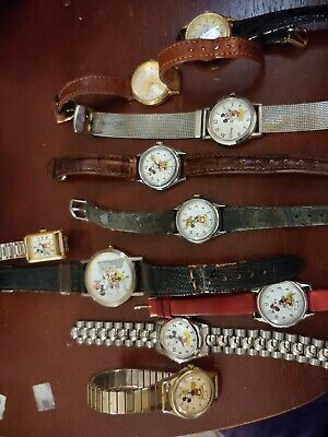 Ladies Brown Belt with Silver Minnie//Mickey Mouse Buckle