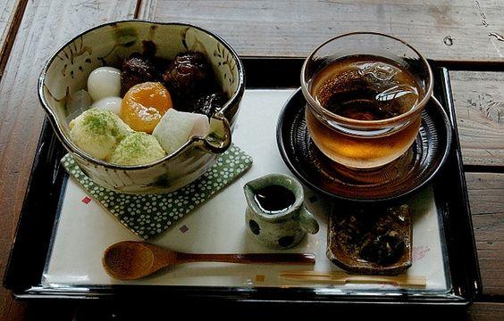japanese style afternoon tea