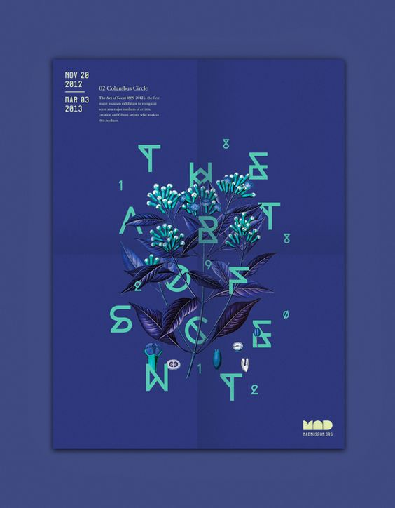 The Art of Scent by Michelle Wang, via Behance