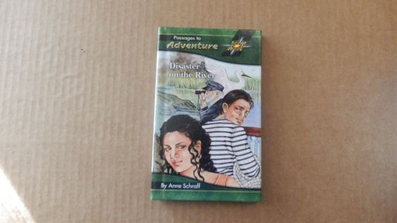 Disaster on the River by Anne Schraff ~ Passages to Adventure Series ~ Hardcover ~ Great condition ~ Free shipping