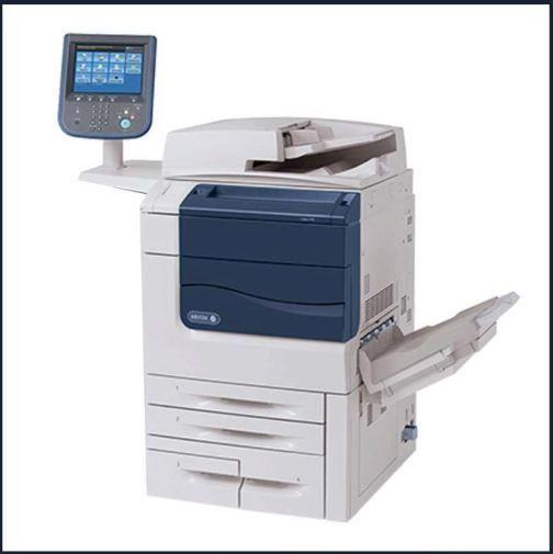 Xerox Color 550 Digital Press Multifunction Printer Scanner Copier