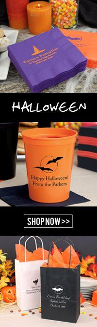 Personalized Halloween Decorations and Favors