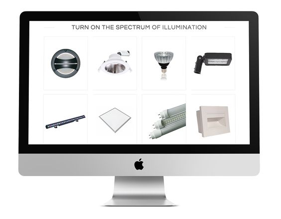 Website Design - Products Listing