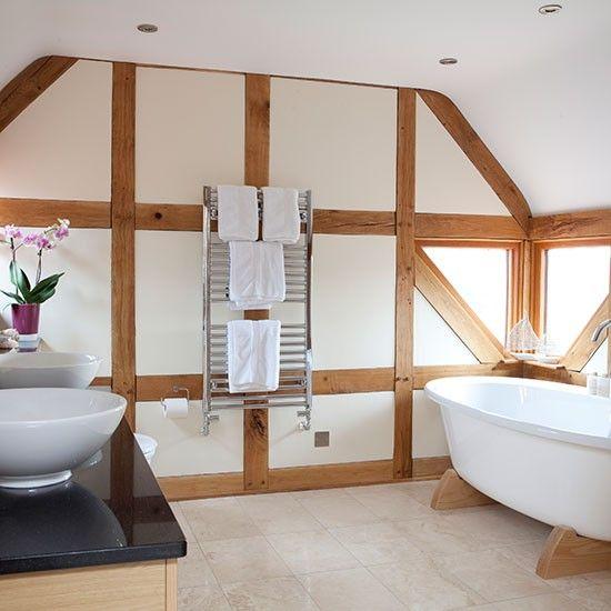 Neutral Bad mit modernen frei … Wohnideen Badezimmer Living Ideas Bathroom