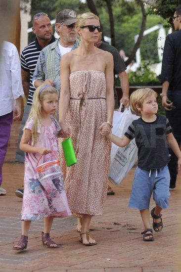 Gwyneth Paltrow and Chris Martin were busy with work this year, though they still made tons of time for their kids Apple and Moses. In July, Gwyneth and her children joined her godfather Stephen Spielberg in Italy for a vacation.