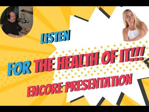 For The Health Of It With Stacey Chillemi Encore Presentation In 2020 Presentation Health Podcasts