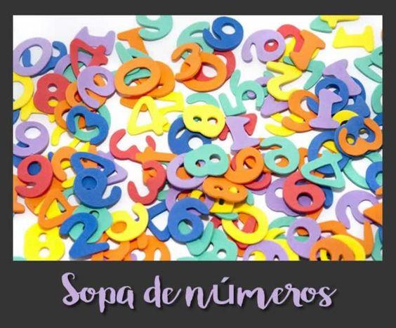 Encuentra los números de esta sopa de números #gimnasiamental