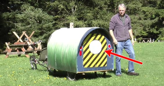 It doesn't even look like a grown man can fit inside. But when he opens it and you see what's inside... MINDBLOWING!