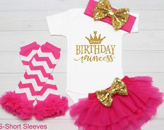 Personalized First birthday Outfit girl by SimplyChicCouture