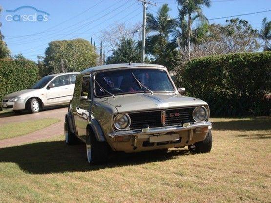 Leyland Mini Clubman 1275 LS Modified  Starlet engine  Mini