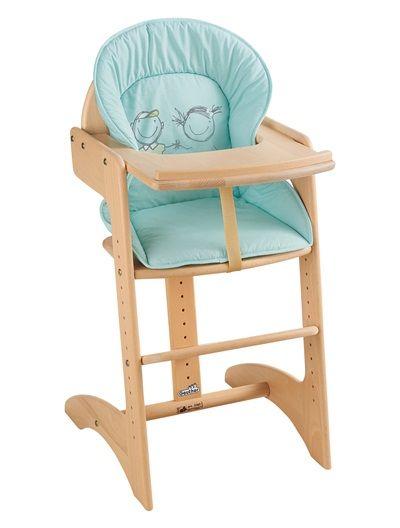 Cadeira alta em madeira, GEUTHER Filou PINHO
