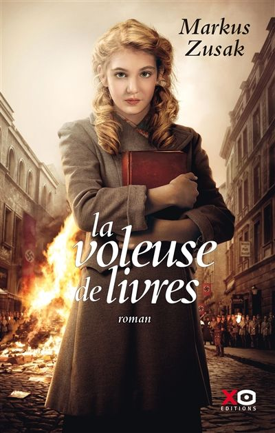 La voleuse de livres : livre fort sur l'histoire d'une petite fille allemande, durant la 2e guerre mondiale,confiée à une famille, qui va apprendre à lire…… par Annie
