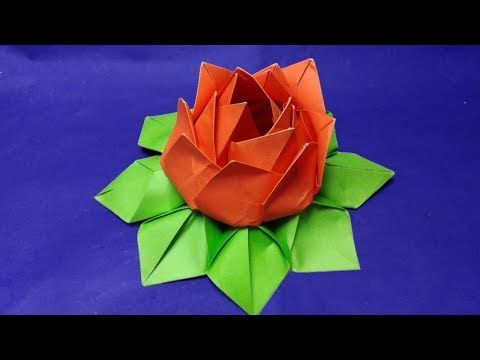 how to make a origami flower - pansy flower - how to make an easy ... | 360x480
