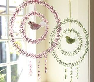 crystal dream catchers