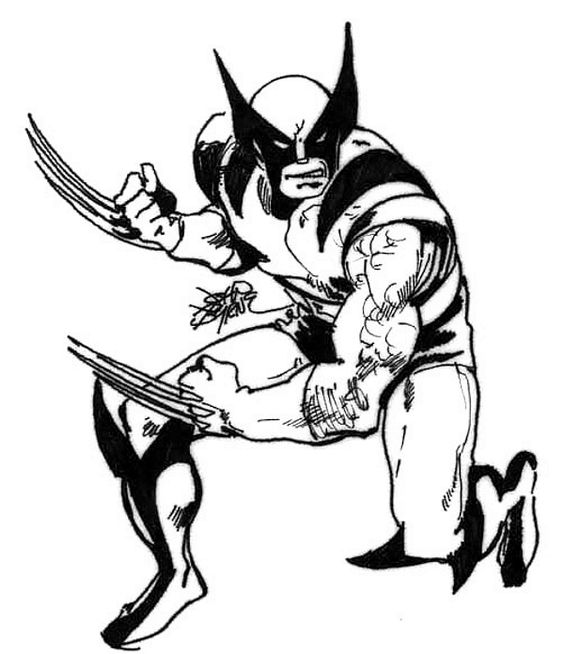 "johnbyrnedraws: "" Wolverine by John Byrne. 1979. """