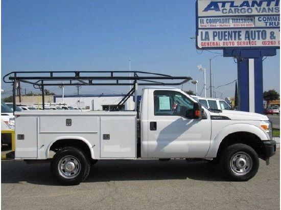 2012 Ford F350 Utility Truck Service Truck La Puente Ca