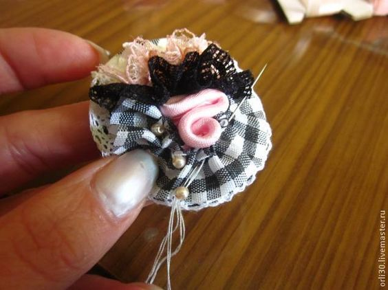 Шляпки для кукол мастер класс подробно #5