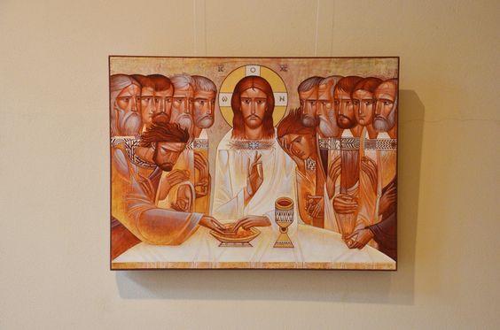 """The last supper"" by Luba Latskiv"