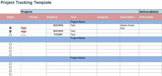 Schedule Template  Project Schedule Template