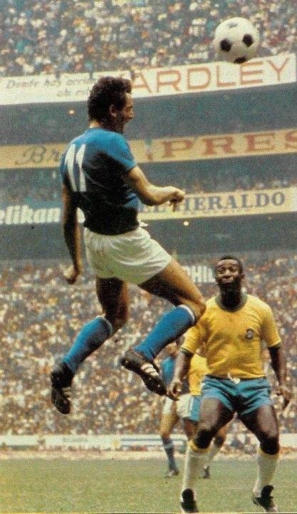 MEXICO 1970 LA FINALE GIGI RIVA