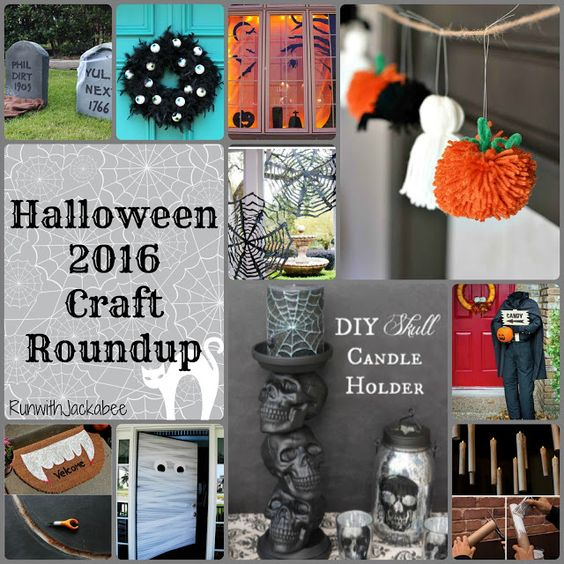 runwithjackabee halloween 2016 craft roundup