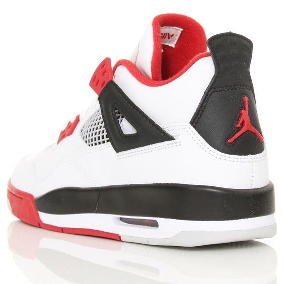 Nike Air Jordan IV Retro (GS) White/Varsity Red