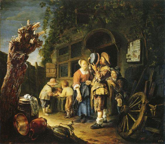 Frans van Mieris - Een blikslager