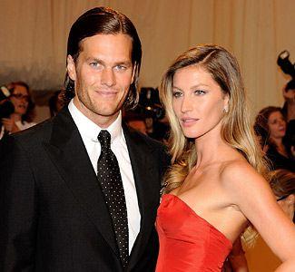 Simply Beautiful Tom Brady & Gisele Bundchen (© Kevin Mazur/WireImage)