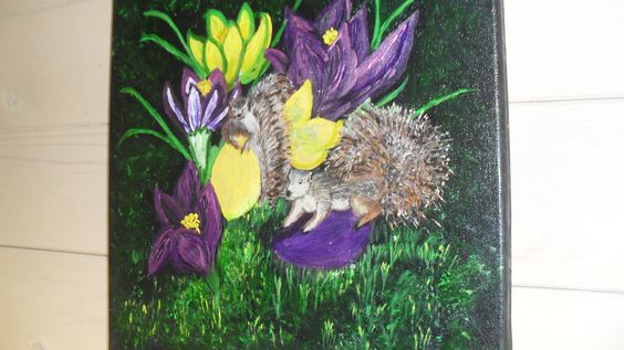 Painted for my Granddaughter 2014