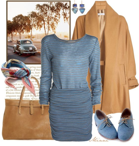 """Autumn Ride"" by minni ❤ liked on Polyvore"
