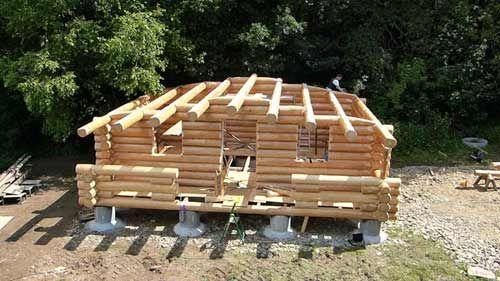 Blockhausbau So Individuell Wie Sie Selbst Blockhaus Bauen Holzhaus Selber Bauen Haus