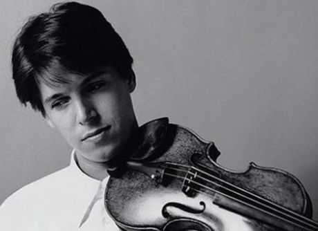 Joshua Bell and a 3.5 million dollar violin. Because he's just that good.: