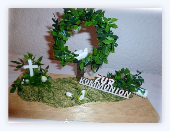 Dekoration - Geldgeschenk, Deko Kommunion, Konfirmation,Taufe - ein Designerstück von Blumeneri bei DaWanda