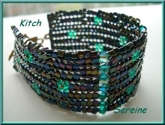 bracelet Kitch de SEREINE En herringbone