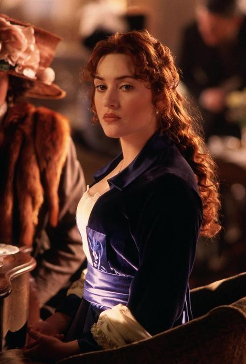 Kate Winslet as Rose DeWitt Bukater inTitanic (1997).