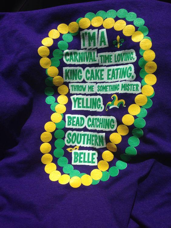 Cute Mardi Gras Shirt Summer Clothess Pinterest