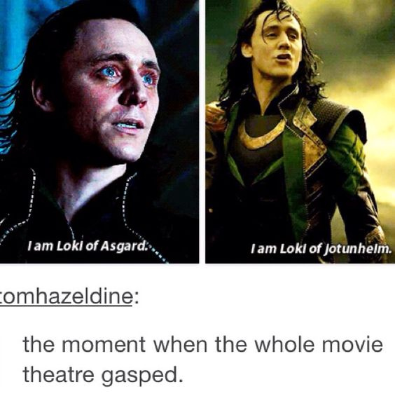 The shocking moment when Loki admitted to being from Jotunheim.