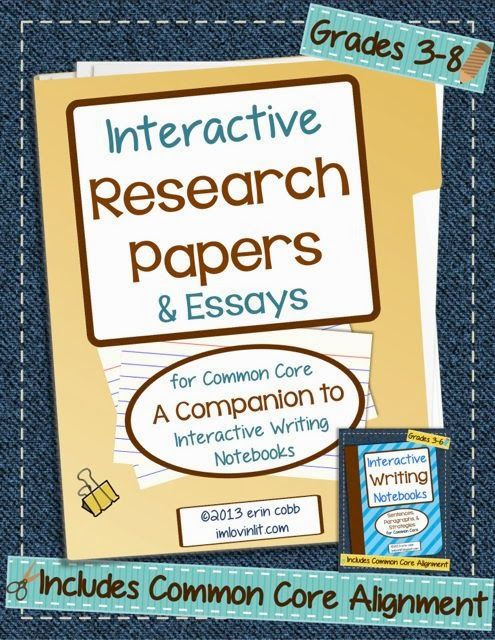 interactive sites writing a research paper This learning activity asks students to create an oral history of someone who remembers world war ii, create a persuasive writing piece, or write a research paper.