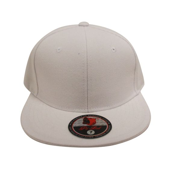 Loyal Cloth Plain White Fitted Cap