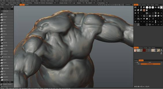 Un-finished old sculpting  #3d #cgi #cg #c4d #cinema4d #maxon #animation #after_effects #design #rendering #3dcoat #sculpting  #sculpture #digital_sculpting #fat_guy #muscles #wip #old_works #screenshot by mohammadmohammad.rezaie