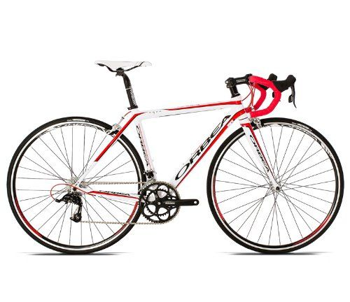 Orbea Aqua Dama Tpx Ready To Ride Women S Road Bike Red White 53cm