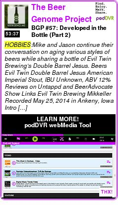 #HOBBIES #PODCAST  The Beer Genome Project | The Beer Genome Project Podcast    BGP #57: Developed in the Bottle (Part 2)    LISTEN...  http://podDVR.COM/?c=ec0d6e04-9bfd-1692-9ee3-98a417c07ca2