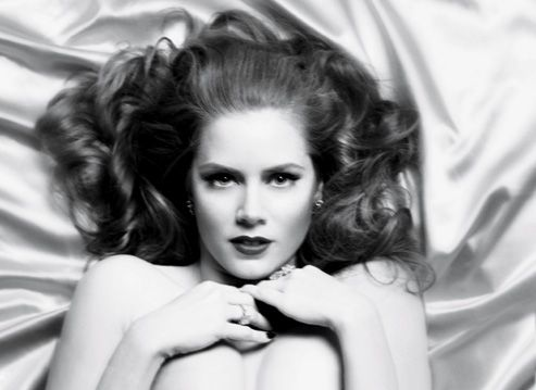 Amy Adams.  I have no idea what she has acted in as I only heard of her today but I have a talent for making snap judgements when it comes to exceptional talent and she seems to be exuding it.