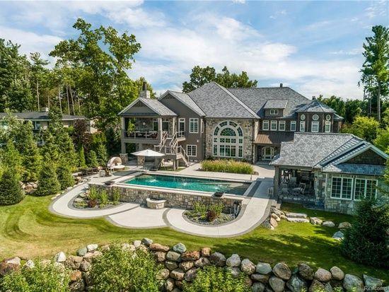 3686 Woodland Dr Metamora Mi 48455 Mls 218074359 Zillow Fancy Houses Mansions Luxury Metamora