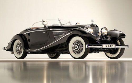 1936 Mercedes Benz 540 K Roadster