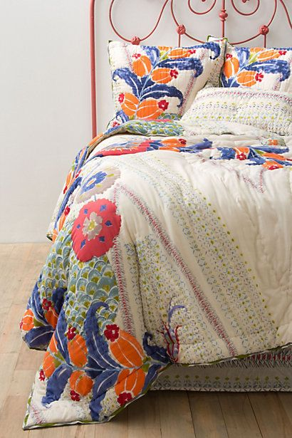 Best Anthropologie Bedding And Quilt On Pinterest 400 x 300