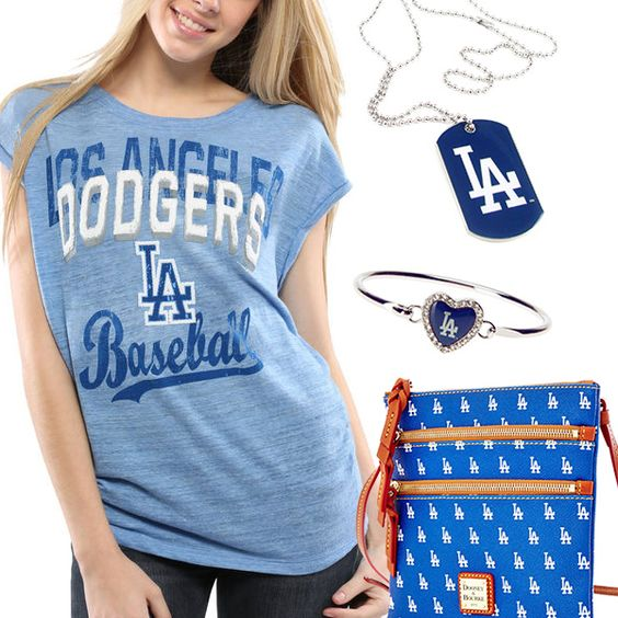 Los Angeles Dodgers Fan Gear - http://cutesportsfan.com/los-angeles-dodgers-fanatics/